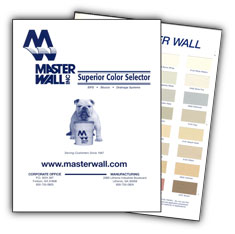 MasterWall Color Chart
